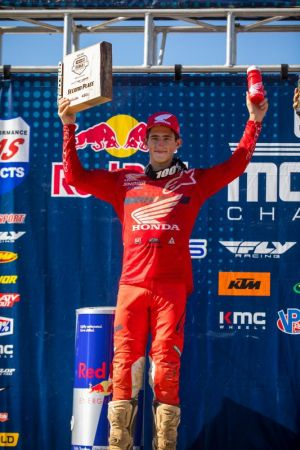 Runner-Up Overall Finish for Chase Sexton at RedBud I National MX- results