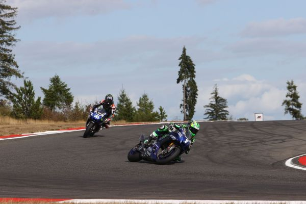 Beaubier and Gagne Storm to Double Podium in Race Two at The Ridge, MotoAmerica results,standings