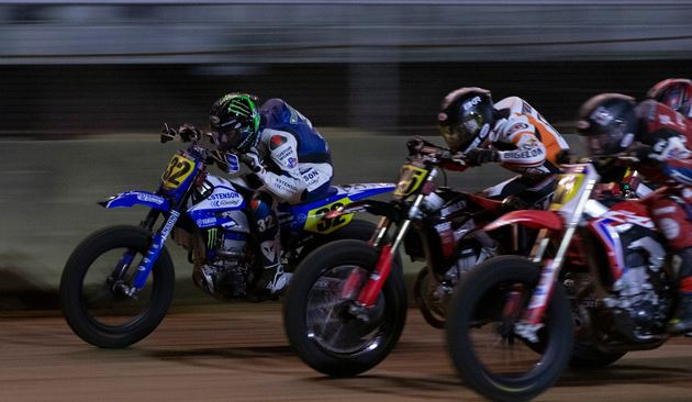 Daniels Just Shy of Podium in AFT Singles Dogfight at Indy Mile II