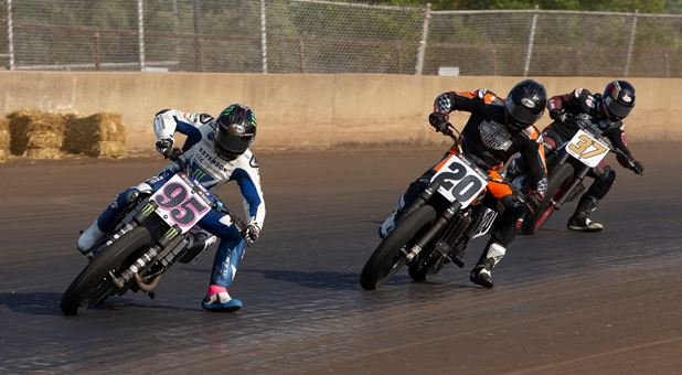 Estenson Racing's AFT SuperTwins Team Scores Points on Challenging Weekend at the Springfield Mile