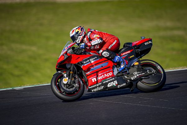 Portuguese GP- Andrea Dovizioso ends with the seventh-fastest time the first day of free practices at Portimão