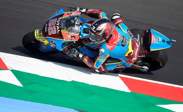 Lowes 'in the mix' on the first day of the Emilia Romagna GP