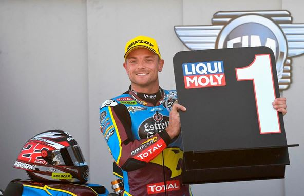 El Team Estrella Galicia 0,0 Marc VDS Sam Lowes domina Motorland con una pole position récord