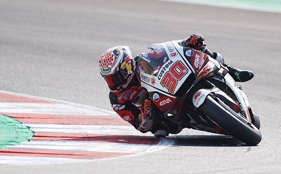 Superb start for Nakagami at Misano