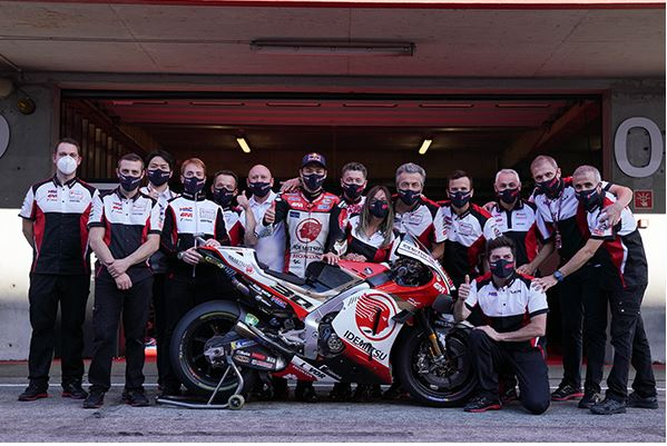 Takaaki Nakagami top HRC rider in the last dance at Portimao