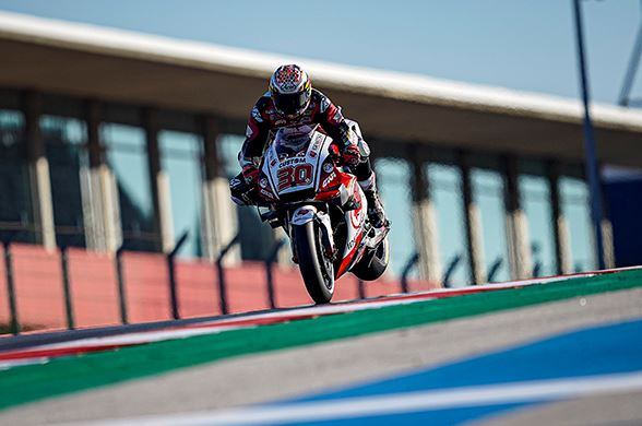 Takaaki Nakagami sits twelfth after opening day at Portimao