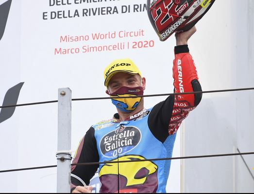 Sam Lowes grabs brilliant podium in 10-lap shootout in Misano!