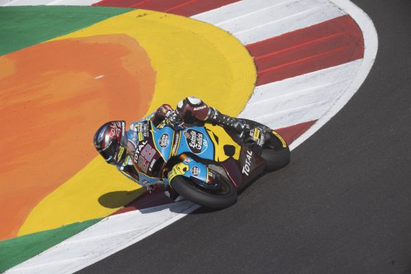 Team Estrella Galicia 0,0 Marc VDS' Sam Lowes to launch title bid from second row in Portimao
