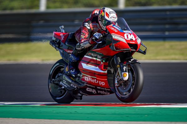 Portuguese GP - Fourth-row start for Andrea Dovizioso, twelfth in qualifying at Portimão