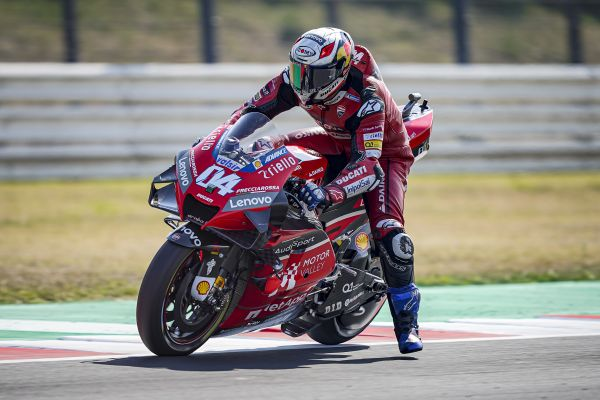 Andrea Dovizioso maintains Champioship lead with a eigthth position in Misano