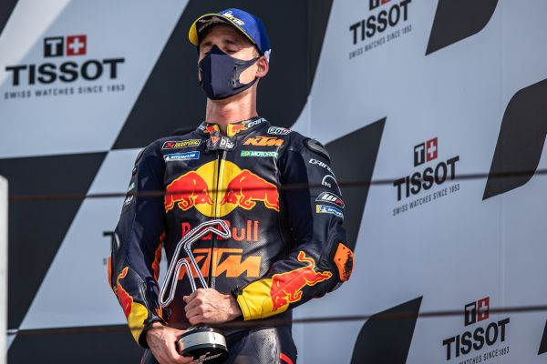 Pol Espargaro takes emotional podium finish in second Misano MotoGP outing