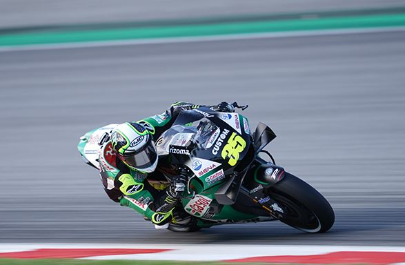 Cal Crutchlow competitive on his return in Catalunya