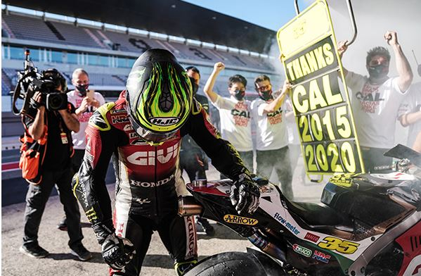 Cal Crutchlow signs off with points finish in Portimao