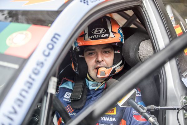 Podium result on ERC event in Portugal