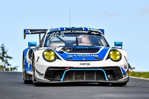 KCMG targeting the podium at first Nürburgring 24 Hours with Porsche