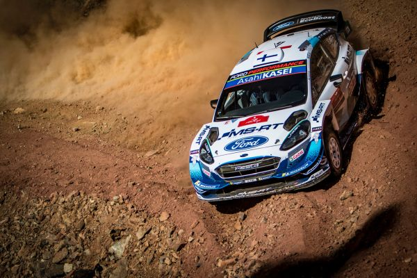 M-Sport Ford Fiesta's in the hunt in Turkey Rally