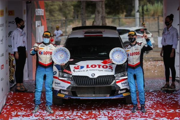 Kajetanowicz and Szczepaniak win Rally Turkey WRC3! Their best result ever!