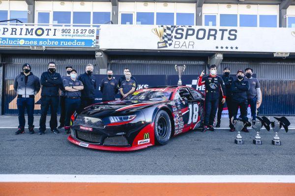Classement Nascar Finals Valencia course 2 - Ghirelli devant Risinato et Tziortzis