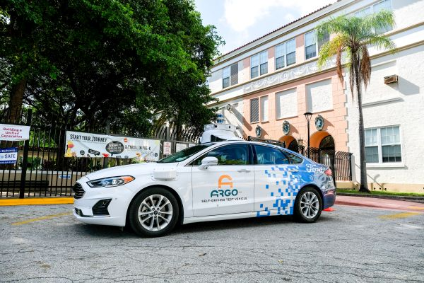 Ford and Argo AI team-up to use self-driving test vehicles to safely make contactless deliveries to distance learning students