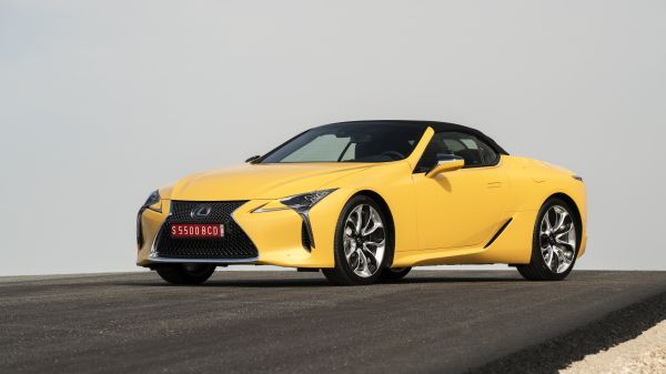 Lexus LC Convertible named the best luxury car of 2021