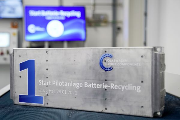 Volkswagen Group Components commences battery recycling