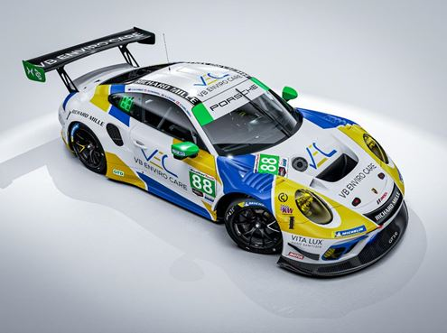 Team Hardpoint EBM Unveils 24 Hours of Daytona Porsche 911 GT3 R entry and Co-ed Driver Line-up