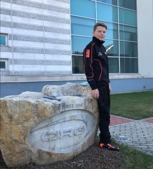 Polish Maksymilian Obst joins CRG in the OK Junior category