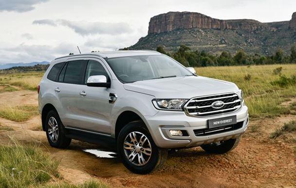 New Beginnings: Going Up and Over with the Ford Everest
