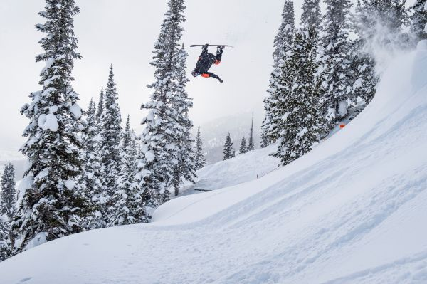 Travis Rice -  Snowboard legend excited for this week's Natural Selection Tour in Wyoming
