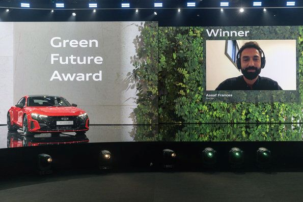 GREENTECH FESTIVAL and Audi give GREEN FUTURE Award to Zencity
