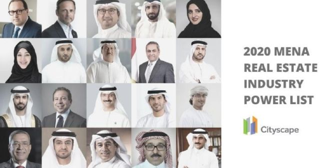 Cityscape Intelligence's most influential people in the MENA real estate industry