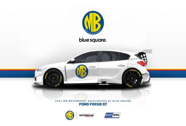 New focus for MB Motorsport accelerated by Blue Square in 2021