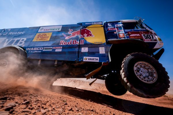 Goodyear-equipped KAMAZ-master team superior in Dakar 2021 with full Top 3 podium