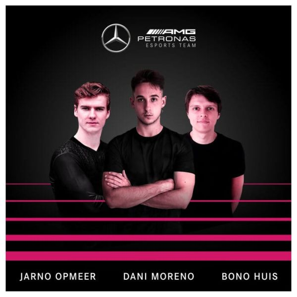 Mercedes-AMG Petronas Esports Team announces 2021 esports driver line-up