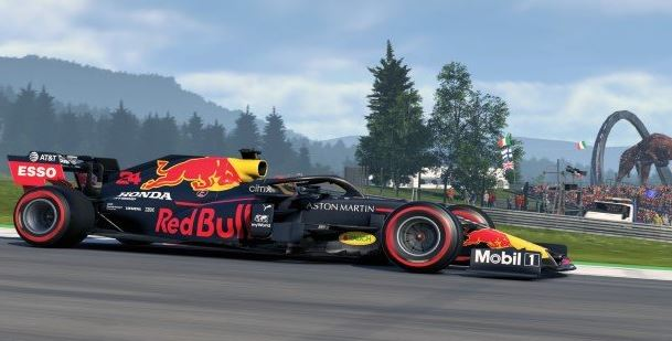 Solid start to the 2021 Formula1 Virtual Grand Prix Series for Red Bull Racing