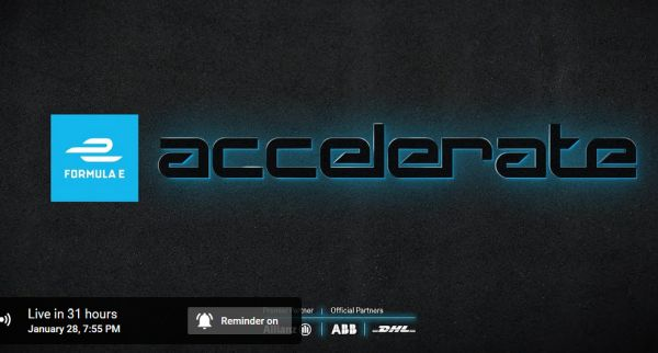 Livestream Formula E Accelerate: Six races, the 24 fastest sim racers, one formula e drive, calendar