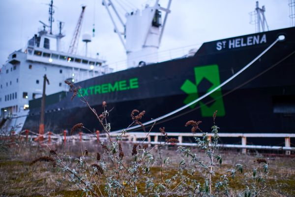 Extreme E's ship prepares to set sail for opening race