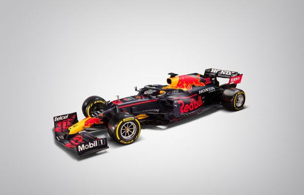Red Bull Racing F1 RB16B uncovered, first images