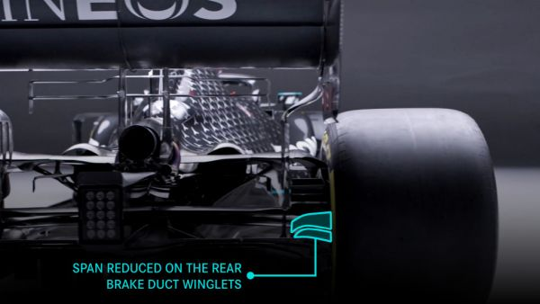 Mercedes AMG Petronas F1 - Significant aero changes for the 2021 season