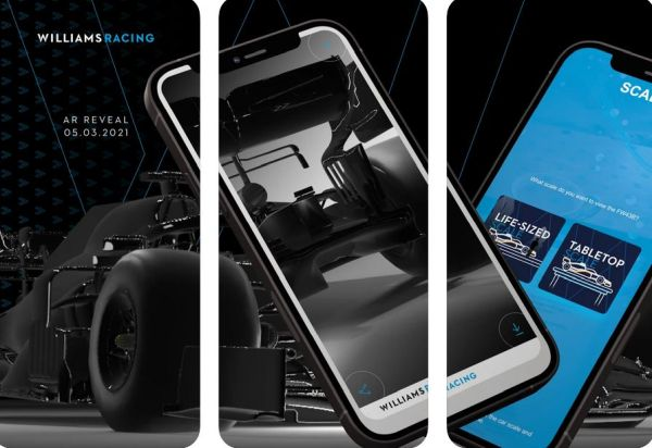 Williams Racing to Reveal FW43B with Augmented Reality