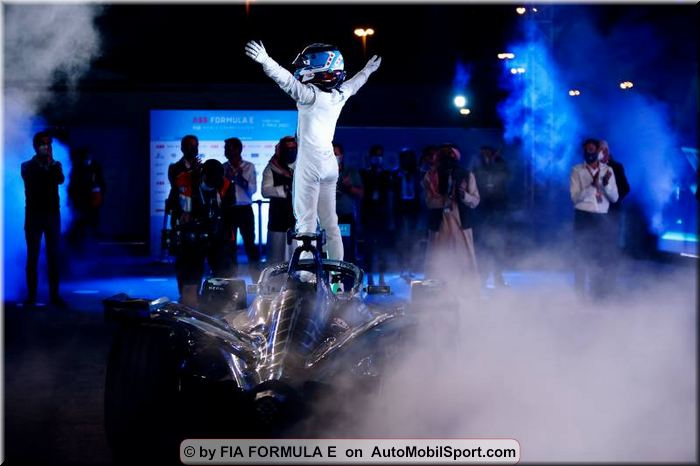 Driver standings after FIA Formula E round 2 at Diriyah