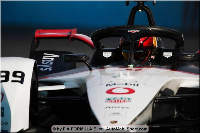 Porsche scores points and gains important insights at FIA Formula E season opener