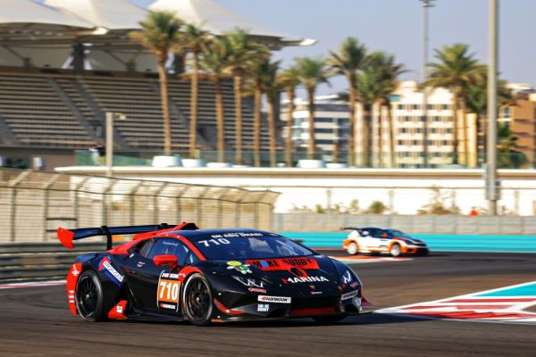 Second place overall at the 6h race Abu Dhabi for Leipert Motorsport