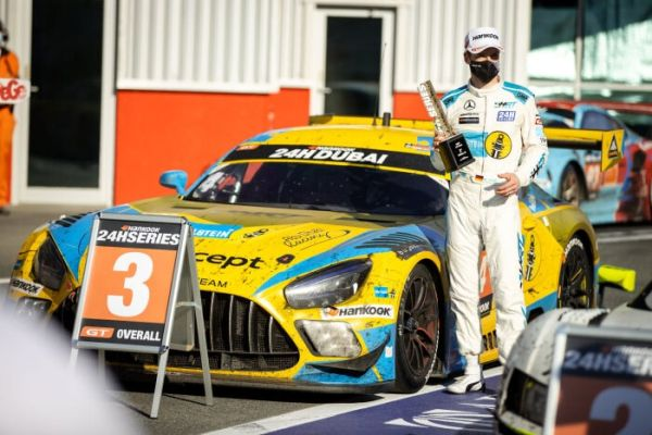Mercedes-AMG Motorsport continues its streak of podium results in Dubai 24-hour race
