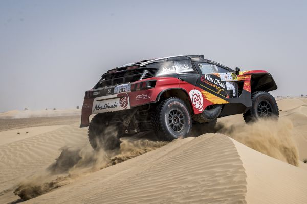 Retirements and selected driver quotes at the finish of Dubai Baja 2021