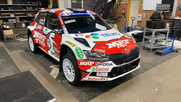 Team MRF Tyres to start 2021 with Arctic Rally in Finland