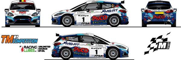 A double rally programme in France for Maxime Potty