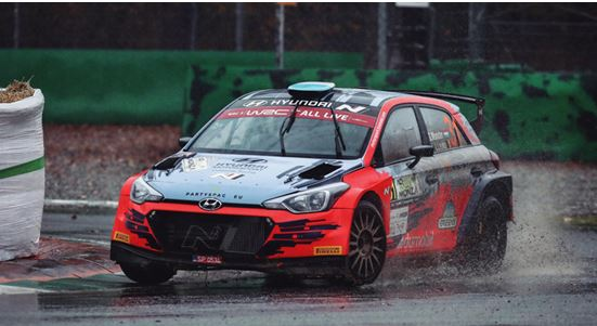 Gregoire Munster experienced a difficult Monza Rally