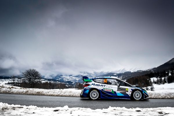 M-Sport Ford World Rally Team - Confidence the key in Monte