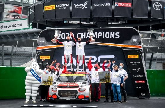 Mads Ostberg wins WRC2 World Title with Citroen C3 R5